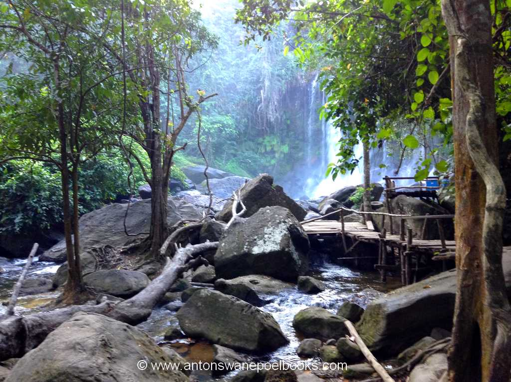 Kulen Waterfall Cambodia