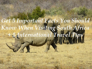 South Africa 10 Travel Tips
